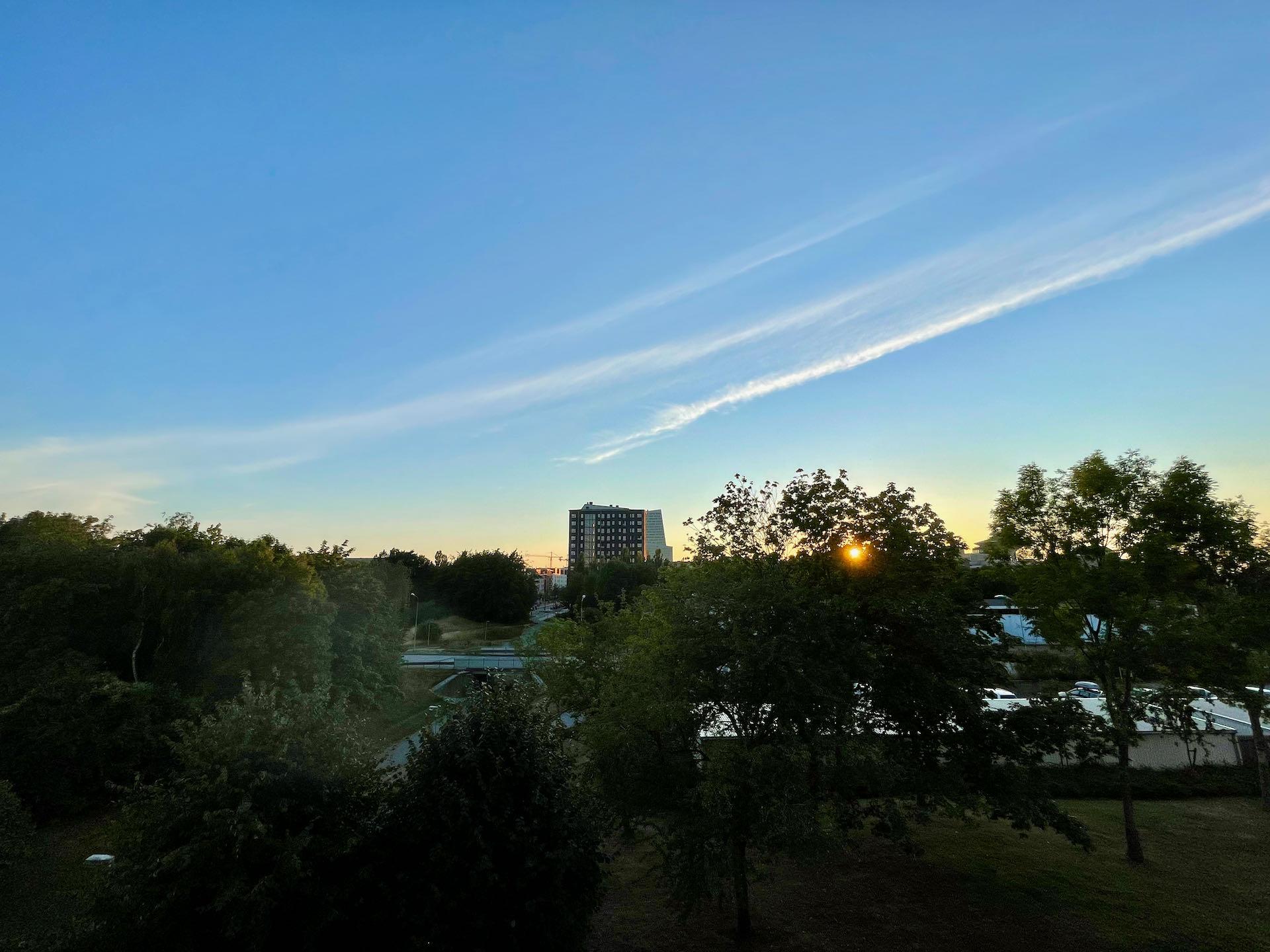 Solnedgång Hyllie